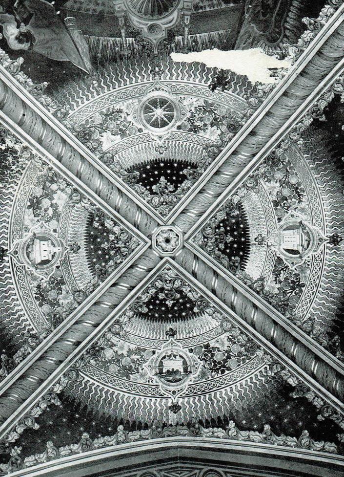 Dettaglio della Volta della Cappella Polacca