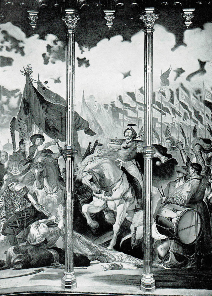 Vittoria di Sobieski a Vienna nella Cappella Polacca