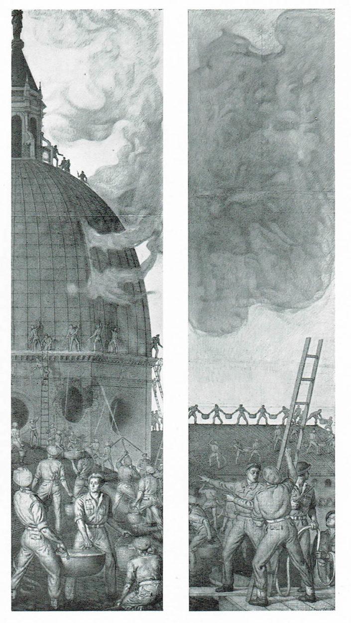La nuova vetrata della Cappella Polacca